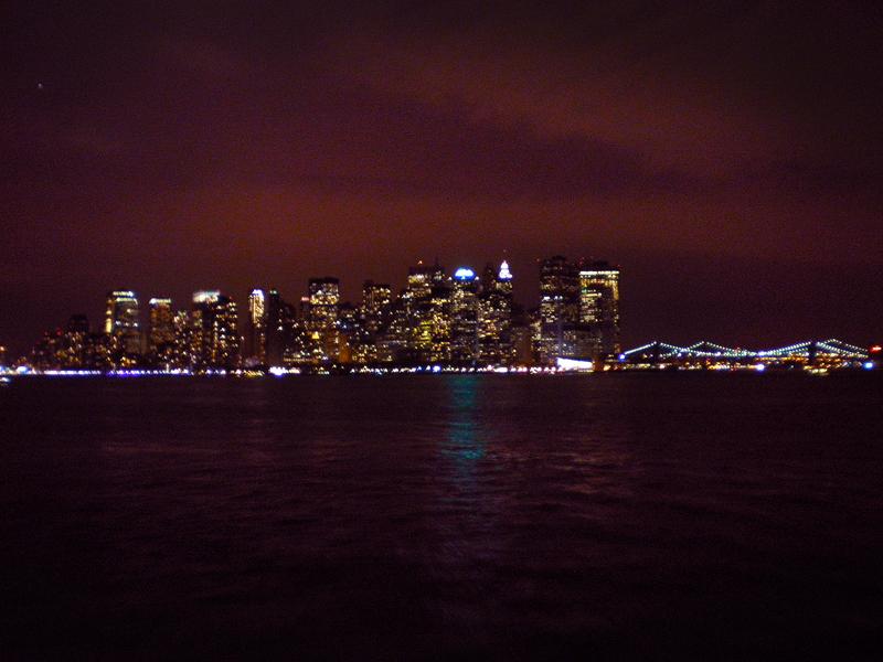 Isla de Manhattan desde el Ferry