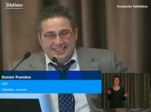 Daniel Molina, CEO de Cebollas Jumosol