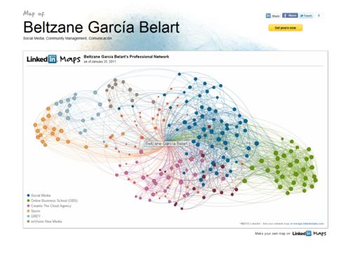 My LinkedIn Map