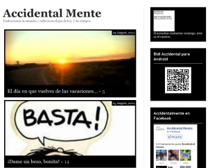 Blog Accidentalmente