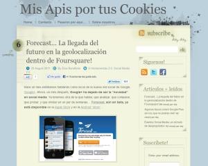 Blog Apis Cookies