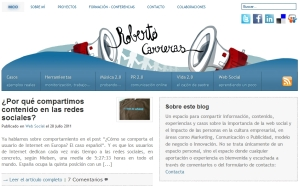 Blog Roberto Carreras