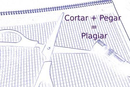 cortar + pegar = plagiar