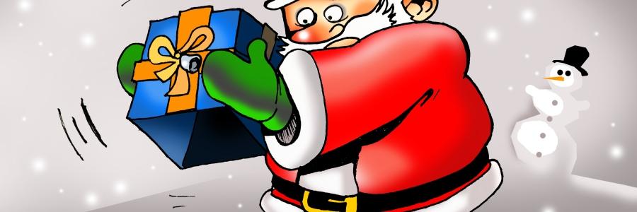 Papa Noel sin regalos