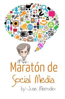 Cartel del Maratón de Social Media