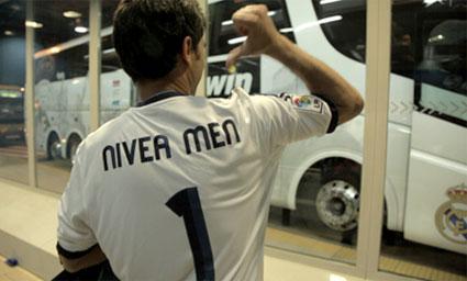 Campaña Nivea Men y el Real Madrid